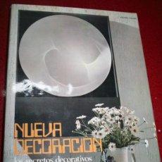 Libros de segunda mano: NUEVA DECORACIÓN - LOS SECRETOS DECORATIVOS DE LA INSTALACIÓN COMERCIAL-ASENSIO CERVER- CEAC 1973. Lote 27435459