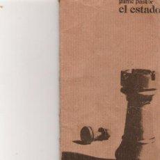 Libros de segunda mano: EL ESTADO - JAIME PASTOR - MAÑANA EDITORIAL -. Lote 15492035