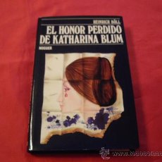 Libros de segunda mano: EL HONOR PERDIDO DE KATHARINA BLUM. HEINRICH BOLL. Lote 23731118