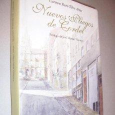 Libros de segunda mano: CARMEN RUIZ TILVE ARIAS : NUEVOS PLIEGOS DE CORDEL, 2000 DEDICADO OVIEDO. Lote 19932108