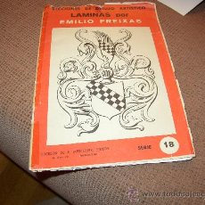 Libros de segunda mano: LAMINAS DE DIBUJO EMILIO FREIXAS NÚM 18. Lote 17195999