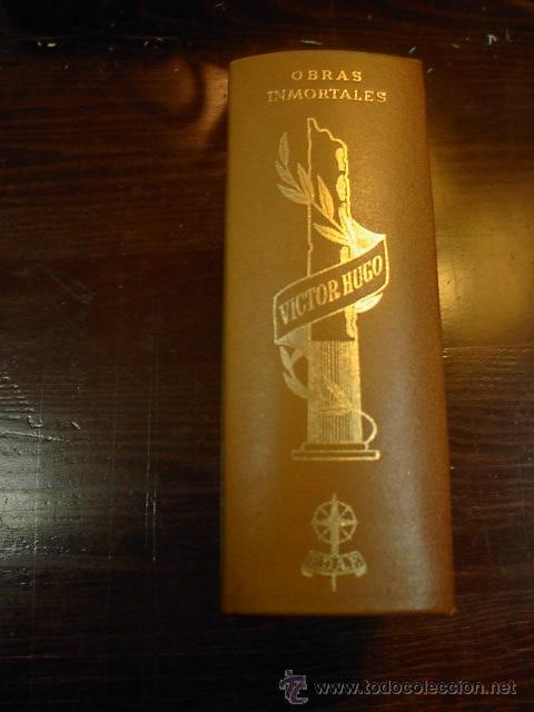 OBRAS INMORTALES, VICTOR HUGO, EDAF, MADRID, 1968 (Libros de Segunda Mano (posteriores a 1936) - Literatura - Otros)