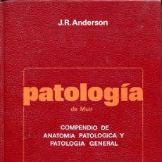 Libros de segunda mano: PATOLOGIA DE MUIR-COMPENDIO DE ANATOMIA PATOLOGICA Y PATOLOGIA GENERAL. Lote 26424068