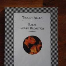 Libros de segunda mano: BALAS SOBRE BROADWAY. WOODY ALLEN. FABULA TUSQUETS EDITORES. Lote 24034342