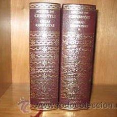 Libros de segunda mano: OBRAS COMPLETAS - CERVANTES - AGUILAR (2 TOMOS). Lote 26250845