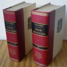 Libros de segunda mano: 2 TOMOS .. HISTORIA DEL CONSULADO DE BILBAO .. POR TEÓFILO GUIARD Y LARRAURI. Lote 15737545