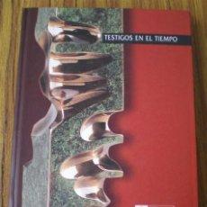 Libros de segunda mano: TESTIGOS DEL TIEMPO .. DENBORAREN LEKUKOAK .. 20 ANIVERSARIO DEL PARLAMENTO VASCO. Lote 15737564
