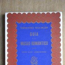 Libros de segunda mano: GUÍA DEL MUSEO ROMÁNTICO. GÓMEZ-MORENO (MARÍA ELENA). Lote 22116294