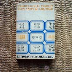 Libros de segunda mano: GABRIEL GARCÍA MÁRQUEZ. CIEN AÑOS DE SOLEDAD. 1970. . Lote 15806711
