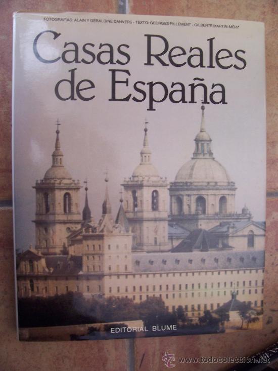 CASAS REALES DE ESPAÑA - 1ª ED. 1980 - EDITORIAL BLUME (Libros de Segunda Mano - Historia - Otros)