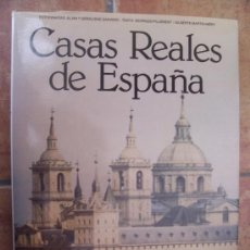Libros de segunda mano: CASAS REALES DE ESPAÑA - 1ª ED. 1980 - EDITORIAL BLUME. Lote 18201660