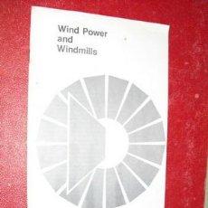 Libros de segunda mano: WIND POWER AND WINDMILLS DEPARTAMENTO DE AGRICULTURA USA. Lote 26863312