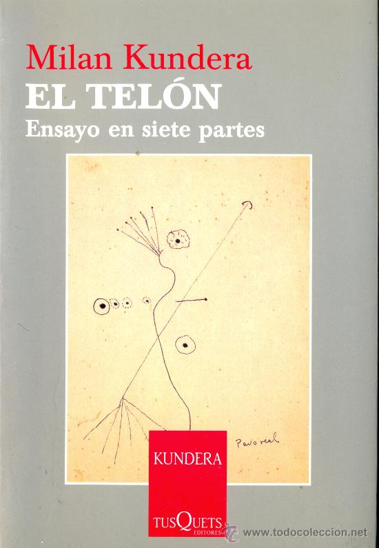 Milan kundera el tel n barcelona 2005 novel comprar en todocoleccion 26257092 - Libreria segunda mano online ...