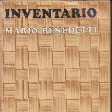 Libros de segunda mano: INVENTARIO. Lote 15915004