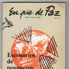 Libros de segunda mano: DOS REVISTAS EN PIE DE PAZ Nº 21 Y PAPELES PARA LA RAZ Nº 42. 1991. Lote 15935089