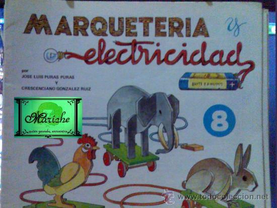 MARQUETERÍA Y ELECTRICIDAD DE SALVATELLA Nº 8 ( DE 12) GRANJA, 1981 NUEVO (Libros de Segunda Mano - Ciencias, Manuales y Oficios - Otros)
