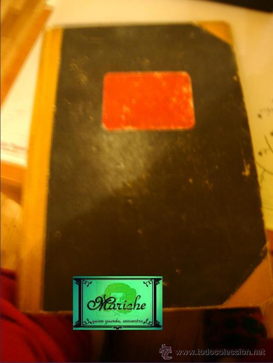 LIBRO DE CAJA ESCRITO CON PLUMA EN PRECIOSA LETRA ESTIRADA, AÑO 1942----46 (Libros de Segunda Mano - Bellas artes, ocio y coleccionismo - Otros)