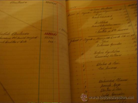 Libros de segunda mano: LIBRO DE CAJA ESCRITO CON PLUMA EN PRECIOSA LETRA ESTIRADA, AÑO 1942----46 - Foto 4 - 27508608