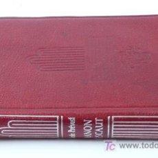 Libros de segunda mano: MANON LESCAUT, ABATÉ PRÉVOST. ED. AGUILAR, COL. CRISOL 12X8,5 CM.. Lote 22534774