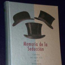 Libros de segunda mano: MEMORIA DE LA SEDUCCION. CARTELES DEL SIGLO XIX EN LA BIBLIOTECA NACIONAL.. Lote 20639977