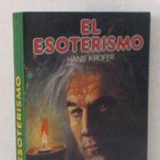 Libros de segunda mano: EL ESOTERISMO. Lote 19702706