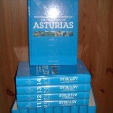 Libros de segunda mano: DICCIONARIO ENCICLOPÉDICO DEL PRINCIPADO DE ASTURIAS 15T POR EDICIONES NOBEL EN OVIEDO 2004. Lote 220230693