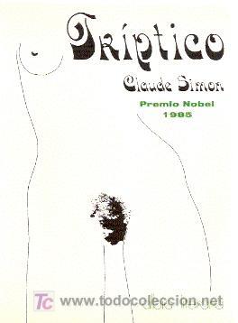 TRÍPTICO ////// CLAUDE SIMON. (Libros de Segunda Mano (posteriores a 1936) - Literatura - Otros)