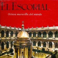 Libros de segunda mano: PATRIMONIO NACIONAL. EL ESCORIAL, OCTAVA MARAVILLA DEL MUNDO. MADRID, 1967. GF. Lote 16210483