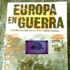 Libros de segunda mano: EUROPA EN GUERRA, RESUMEN HISTÓRICO DE LA 1ª Y 2ª GUERRA MUNDIAL-FOTOGRAFÍAS. Lote 27330381