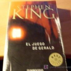 Libros de segunda mano: EL JUEGO DE GERALD ( STEPHEN KING ). Lote 16249576