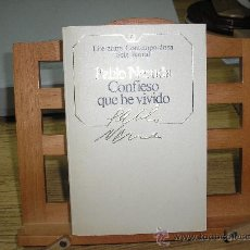 Libros de segunda mano: CONFIESO QUE HE VIVIDO (PABLO NERUDA) - MEMORIAS. Lote 26832226
