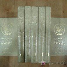 Libros de segunda mano: HISTORIA DE LA CRUZADA ESPAÑOLA COMPLETA 7 VOLUMENES. DATAFILMS MADRID 1984. Lote 57095455
