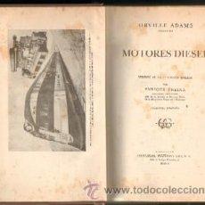 Libros de segunda mano: MOTORES DIESEL (A-MOT-155). Lote 17036126