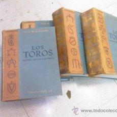 Libros de segunda mano: LOS TOROS 5ª EDICION - EL COSSIO - 1964-1967 - COMPLETA - 4 TOMOS. Lote 27604820