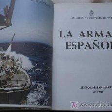 Libros de segunda mano: ARMADA ESPAÑOLA (LA). ASAMBLEA DE CAPITANES DE YATE.. Lote 17333614