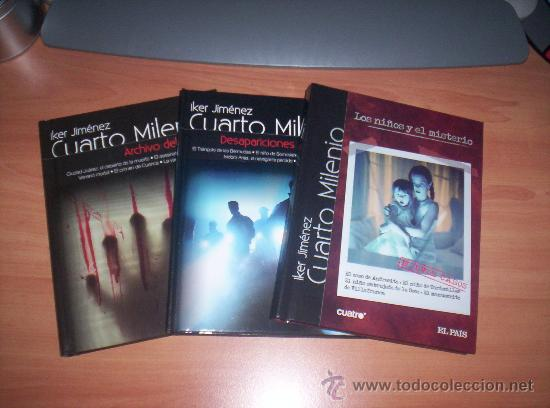 Cuarto milenio tres volumenes libro y dvd comprar en for Ultimo libro de cuarto milenio