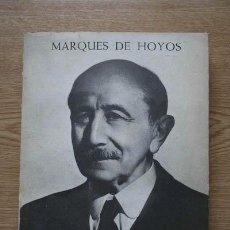 Libros de segunda mano: MI TESTIMONIO. HOYOS (MARQUÉS DE). Lote 17466202