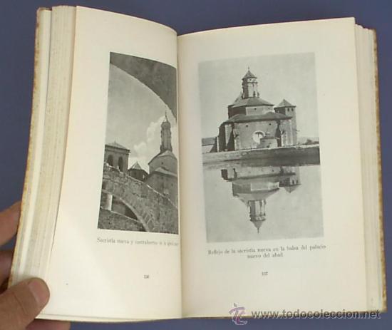 Libros de segunda mano: GUIA DE POBLET. POR EL R.P. DOM BERNARDO MORGADES. BARCELONA, MCMXLVI. - Foto 3 - 21142261