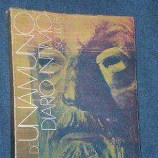 Libros de segunda mano: DIARIO ÍNTIMO DE MIGUEL DE UNAMUNO. . Lote 26183670