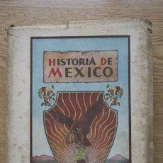 Libros de segunda mano: COMPENDIO DE LA HISTORIA DE MÉXICO DESDE SUS PRIMEROS TIEMPOS HASTA LOS ÚLTIMOS AÑOS. . Lote 17621936