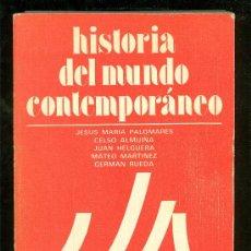 Libros de segunda mano: HISTORIA DEL MUNDO CONTEMPORANEO. 1978.. Lote 17741527