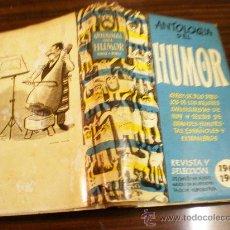 Libros de segunda mano: ANTOLOGIA DEL HUMOR(1962-1963) REVISTA Y SELECCION MADRID 1962. Lote 17776518