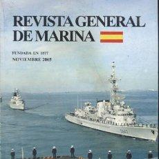 Libri di seconda mano: REVISTA GENERAL DE MARINA. AÑO 2005. (A/ REV- 378). Lote 227904165