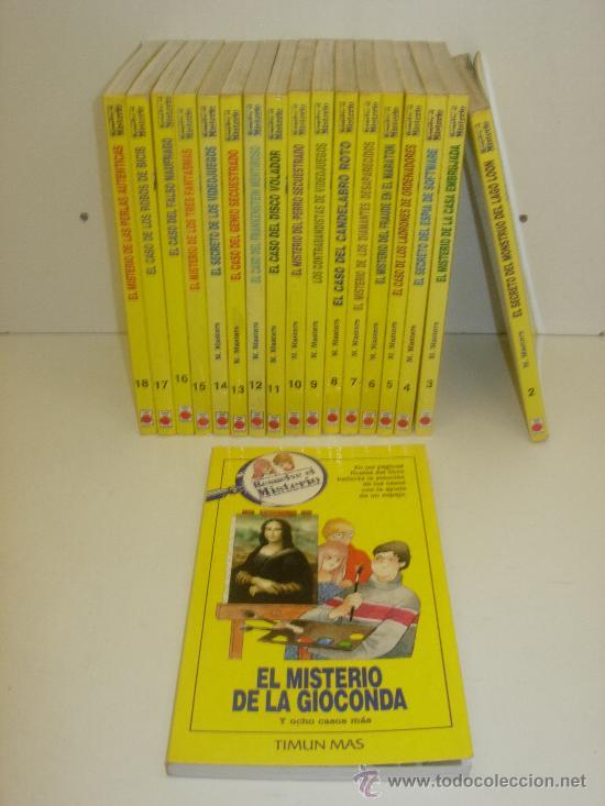 LIBRO-JUEGO RESUELVE EL MISTERIO TIMUN MAS SUELTOS O EN LOTE (Libros de Segunda Mano - Literatura Infantil y Juvenil - Otros)
