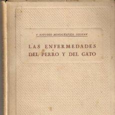 Libros de segunda mano: LAS ENFERMEDADES DEL PERRO Y DEL GATO. Lote 17908267