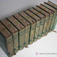 Libros de segunda mano: OBRAS COMPLETAS DE JACINTO BENAVENTE EN 11 TOMOS, PIEL, JOYA, AGUILAR, MADRID, AÑOS 1950 - 1958.. Lote 47013367