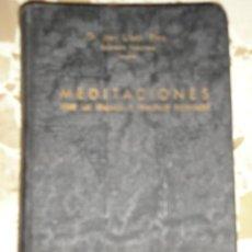 Libros de segunda mano: LIBRO RELIGION CRISTIANA . MEDITACIONES ESPIRITUALES TOMO 2. Lote 27243979