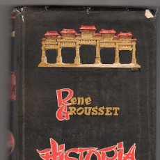 Libros de segunda mano: HISTORIA DE CHINA POR RENE GROUSSET. LUIS DE CARALT EDITOR 1ª ED. BARCELONA ABRIL 1944. Lote 18163748