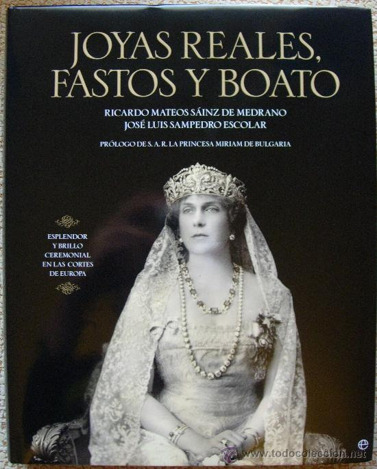 JOYAS REALES FASTOS Y BOATO (Libros de Segunda Mano - Bellas artes, ocio y coleccionismo - Otros)