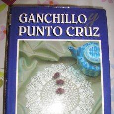 Libros de segunda mano: GANCHILLO Y PUNTO DE CRUZ-5 TOMOS VARIADOS.. Lote 27037468